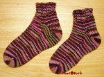 Toe Up Socks