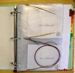 Circular Needles Binder