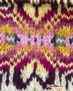 Neet stranded knit