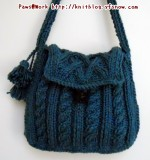 Green Cable Purse
