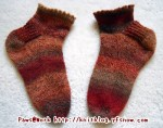 Picot Edged Socks