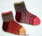 Hearts Socks Pair