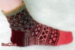 Hearts Socks Side