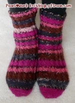 Rib Socks Front