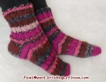 Rib Socks Side