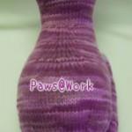 猫の編みぐるみ:背中