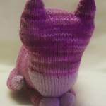 猫の編みぐるみ:正面