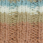 編み目が揃っていないゴム編み
