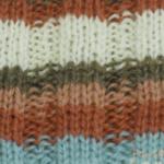 編み目が揃っているゴム編み