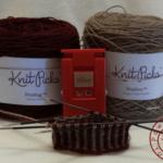 サンカ手袋の練習:編み始め