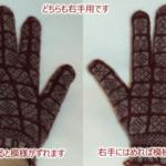 サンカ手袋練習:3号