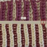 イギリスゴム編み:3つ目