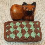 バスケット編みのハンドレスト