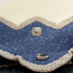 アフリカンフラワーバッグ - 磁石の留め金
