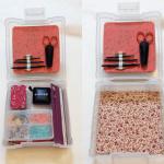 編み物道具箱:中身